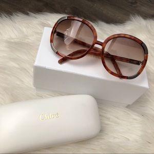 Chloe Myrtle CL2119 Tortoise Shell Sunglasses